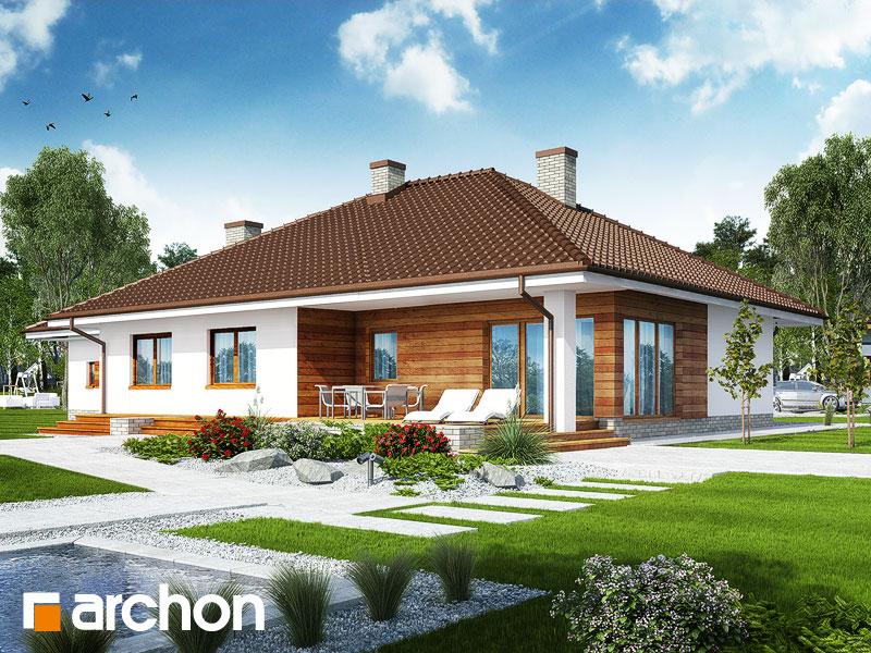 Dom pod rozkvitnutou jabloňou 2 (G2) - Vizualizácia 2
