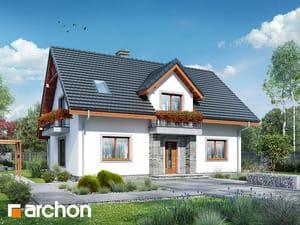 Projekt domu ARCHON+ Dom v lucerne 7