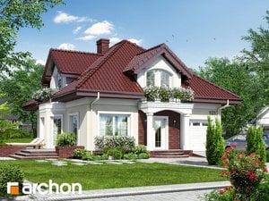 Projekt domu ARCHON+ Dom medzi tymiánom 7 ver.2