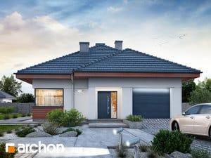 Projekt domu ARCHON+ Dom medzi ringlotami 3