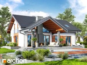 Projekt domu ARCHON+ Dom medzi prvosienkami (G2)
