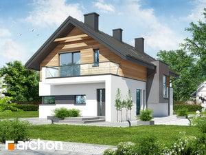Projekt domu ARCHON+ Dom v tiarely ver.2