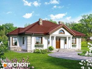 Projekt domu ARCHON+ Dom pod jarabinou 6 ver.2