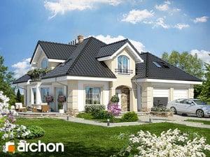 Projekt domu ARCHON+ Dom uprostred zbehovca (G2P) ver.2