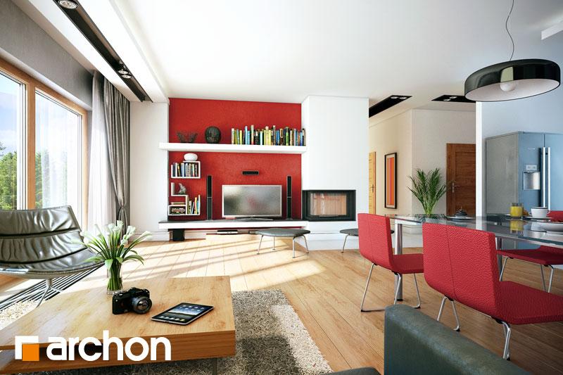 Dom v paróciách TERMO - Interiér