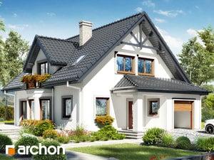 Projekt domu ARCHON+ Dom v očianke ver.2