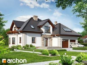 Projekt domu ARCHON+ Dom medzi nektarinkami 3 ver.2