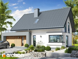 Projekt domu ARCHON+ Dom v zelenci 12 (G)