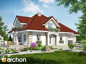 Projekt domu ARCHON+ Dom medzi nektarinkami 2 ver.2