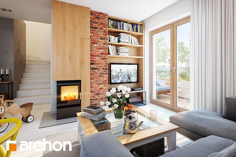 Dom medzi rododendronmi 11 ver.2 - Interiér