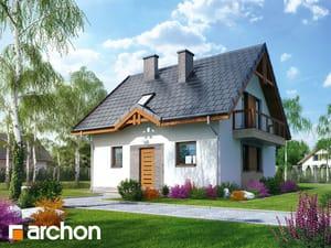 Projekt domu ARCHON+ Dom medzi jahôdkami 3 ver.2