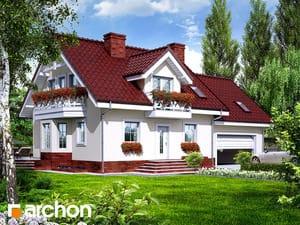 Projekt domu ARCHON+ Dom medzi rododendronmi 6 (G2P) ver.2