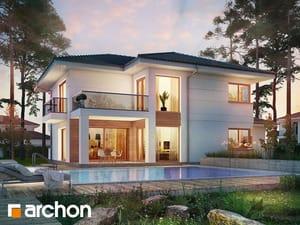 Projekt domu ARCHON+ Vila Olivia 3 (G2P)