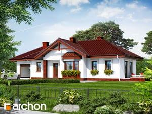 Projekt domu ARCHON+ Dom medzi vstavačmi ver.2