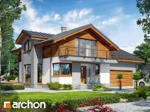 Projekt domu ARCHON+ Dom v budlejách 4 (G2)