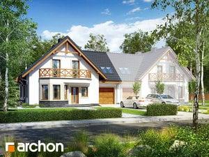 Projekt domu ARCHON+ Dom pod pistáciou 2 (B) ver.2