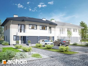 Projekt domu ARCHON+ Vila Julia 12 (R2B)