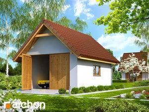 Projekt domu ARCHON+ Hospodársky objekt G10 ver.2