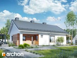 Projekt domu ARCHON+ Dom pri cédri