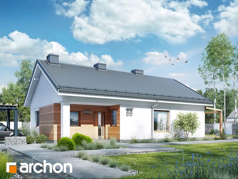 Dom pri cédri  - Vizualizácia 1