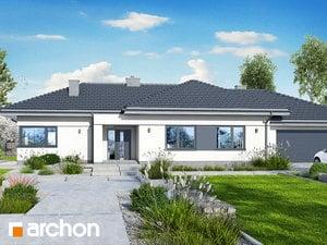 Projekt domu ARCHON+ Dom pod rozkvitnutou jabloňou 6 (G2)