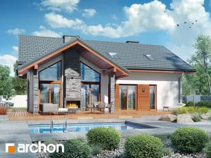 Projekt domu ARCHON+ Dom medzi prvosienkami 2 (G2)