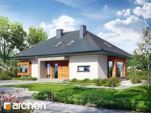 Projekt domu ARCHON+ Dom pod jarabinou 18