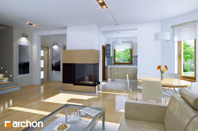 Dom medzi rododendronmi 5 (W) ver.2 - Interiér
