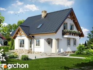 Projekt domu ARCHON+ Dom medzi mandarínkami ver.2