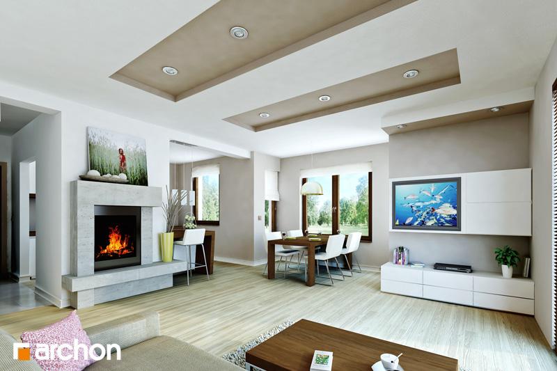 Dom medzi mandarínkami ver.2 - Interiér