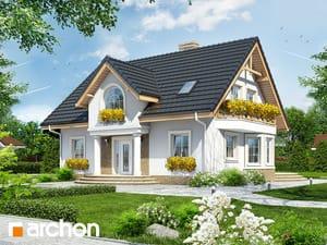 Projekt domu ARCHON+ Dom v mirabelkách ver.2