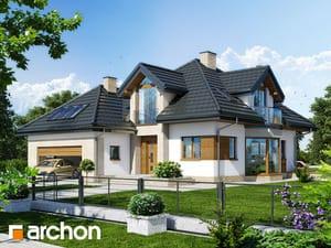 Projekt domu ARCHON+ Dom v brestovci (N) ver.2