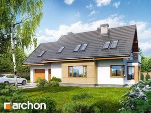 Projekt domu ARCHON+ Dom v nevädzách (N) ver.3