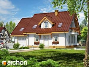 Projekt domu ARCHON+ Dom medzi jahôdkami 4 TERMO