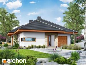 Projekt domu ARCHON+ Dom v cypruštekoch ver.2