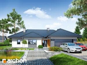 Projekt domu ARCHON+ Dom pri zlatobyle (G2)