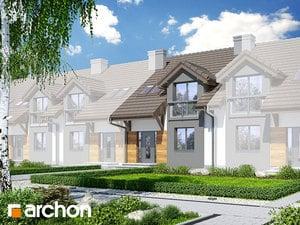Projekt domu ARCHON+ Dom medzi stračími ver.2