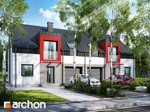 Projekt domu ARCHON+ Dom medzi cyklámenmi 5