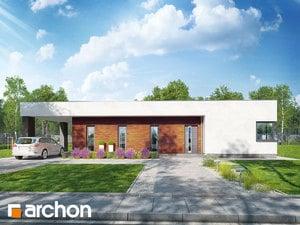 Projekt domu ARCHON+ Dom v plumeriách