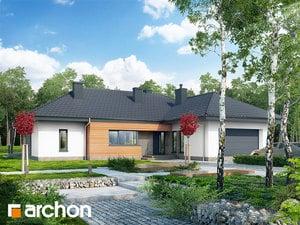 Projekt domu ARCHON+ Dom medzi isméniami (G2)