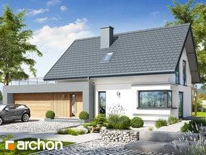 Projekt domu ARCHON+ Dom v zelenci 12 (G2)
