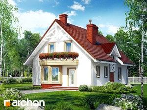 Projekt domu ARCHON+ Dom pod pistáciou ver.2