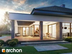 Projekt domu ARCHON+ Dom v snežienkach 7 (G2)
