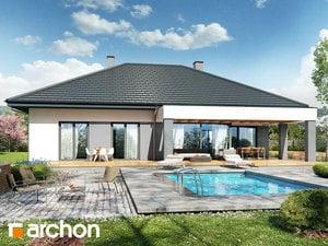 Projekt domu ARCHON+ Dom v snežienkach 8 (G2)