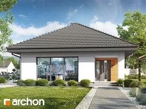 Projekt domu ARCHON+ Dom v orgovánoch 14