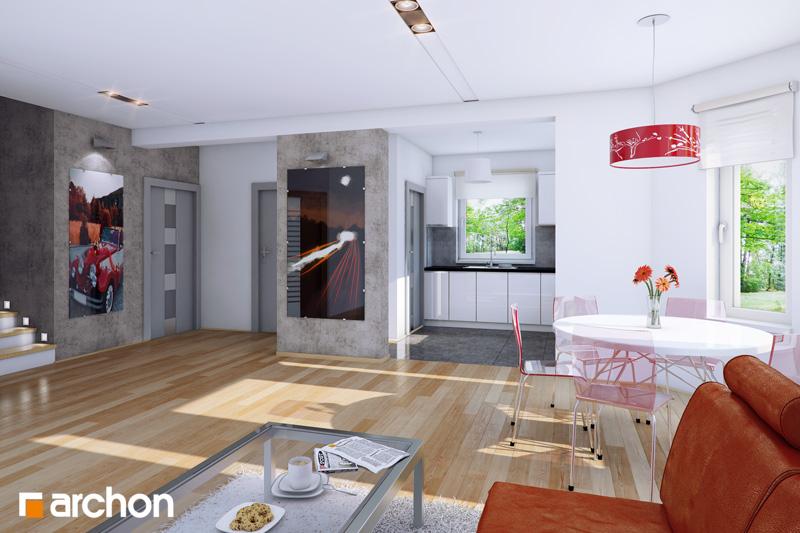 Dom medzi rododendronmi 4 ver.2 - Interiér