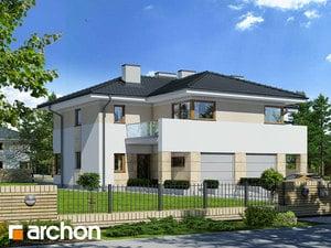Projekt domu ARCHON+ Vila Julia 3 ver.2
