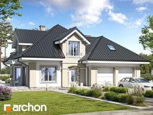 Projekt domu ARCHON+ Dom uprostred zbehovca (G2) ver.2