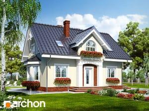 Projekt domu ARCHON+ Dom pri koriandre 2 ver.2