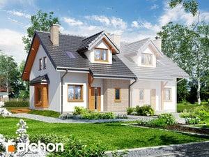 Projekt domu ARCHON+ Dom medzi cyklámenmi 2 ver.2